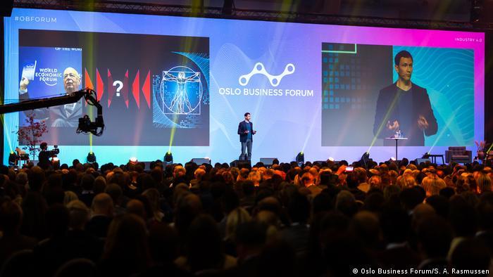 Norwegen | Chris Kutarna at Oslo Business Forum