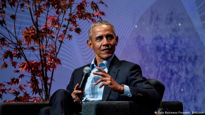 Norwegen | Obama auf der Oslo Innovation Week (Oslo Business Forum/A. Eriksson)