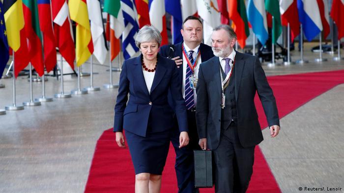 Belgien | Beginn EU-Gipfel mit Beratungen zum Brexit (Reuters/. Lenoir)