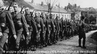 Norwegen | Parade der deutschen Besatzungstruppen Oslo 20.4.1941