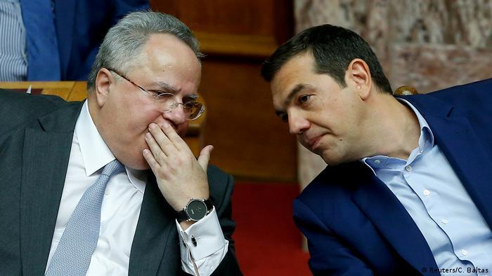 Alexis Tsipras und Nikos Kotzias