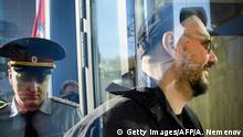 Russland Kirill Serebrennikow trifft zu einer Gerichtsverhandlung in Moskau ein