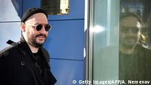 Russian stage and screen director Kirill Serebrennikov enters a courtyard in Moscow on October 17, 2018. - The trial of Serebrennikov started more than a year after he was placed under house arrest in a controversial embezzlement probe. (Photo by Alexander NEMENOV / AFP) (Photo credit should read ALEXANDER NEMENOV/AFP/Getty Images)