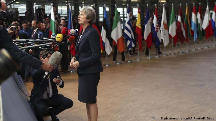 Belgien | Beginn EU-Gipfel mit Beratungen zum Brexit | Theresa May
