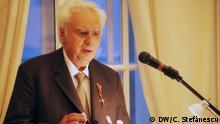 Rumänien Verleihung des Verdienstordens der Bundesrepublik Deutschland für Autor Lucian Boia