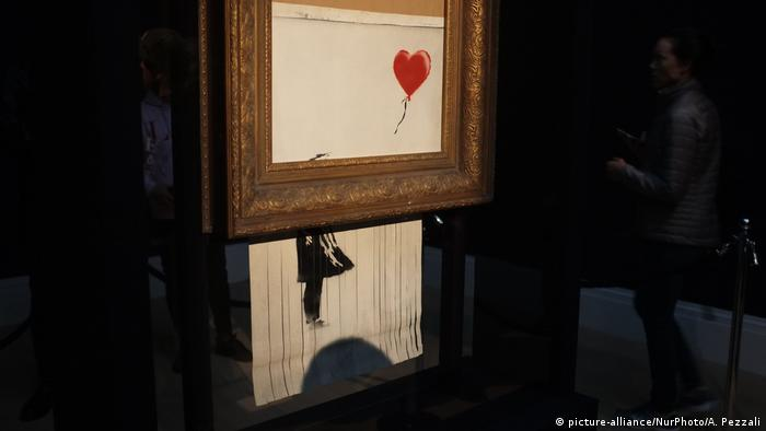 Banksy artwork (picture-alliance/NurPhoto/A. Pezzali)