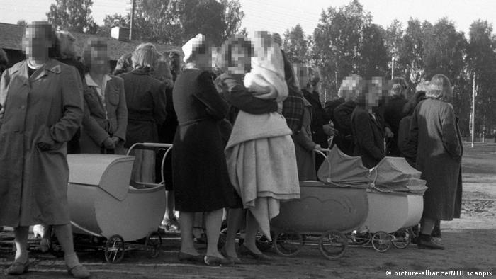Norwegen Elverum - Deutsche Besatzung in Norwegen nach Kriegsende