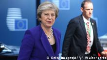 Theresa May in Brussels for the EU summit (Getty Images/AFP/F. Walschaerts)