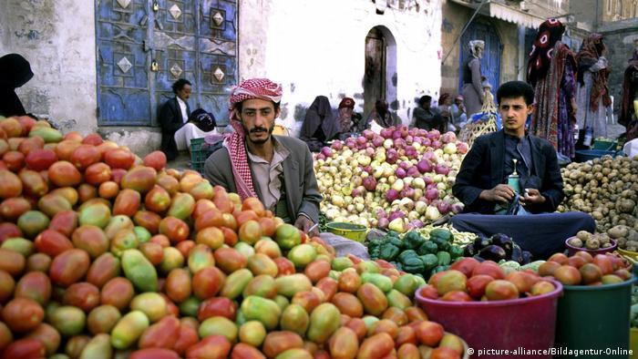 Jemen Markt (picture-alliance/Bildagentur-Online)
