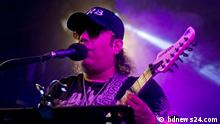 Ayub Bachchu is singing in a concert in Dhaka, Bangladesh on the occassion of Internet Week organised by Bangladesh Government.