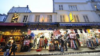 Frankreich Paris Souvenirläden, Tourismus im Stadtteil Montmartre
