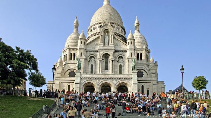 Frankreich Paris Basilika von Sacre Coeur