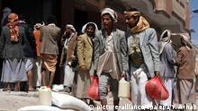 Lebensmittelhilfe im Jemen