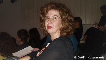 Η ποιήτρια Κατερίνα Ηλιοπούλου