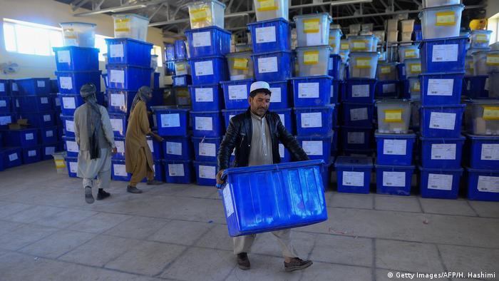 Afghanistan - Wahl (Getty Images/AFP/H. Hashimi)