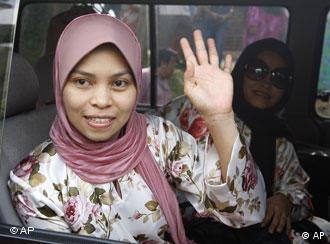 Die muslimische Malaysierin Kartika Sari Sewi Shukarno. (Foto:AP)
