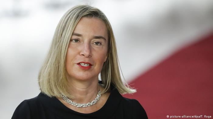 EU top diplomat Federica Mogherini