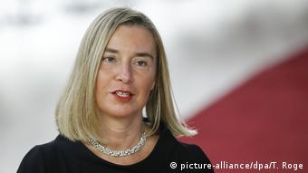 Belgien EU Gipfel in Brüssel Federica Mogherini