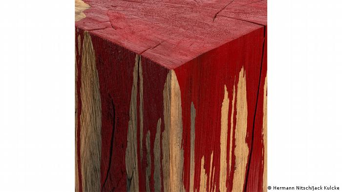 NOT THEN, NOT NOW, NOT EVER Hermann Nitsch: Untitled, detail (Jack Kulcke)