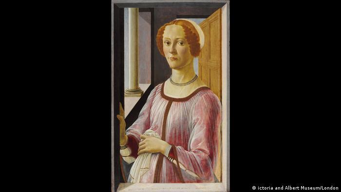 Gemälde   Sandro Botticelli, Bildnis einer Frau