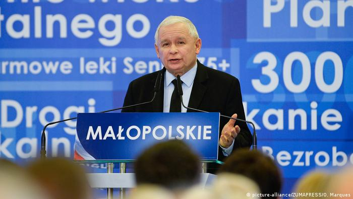Jaroslaw Kaczynski (picture-alliance/ZUMAPRESS/O. Marques)