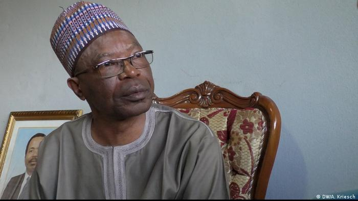 Deben Tchoffo, governor of Cameroon's northwest region (DW/D. Tchoffo)