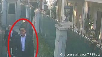Ύποπτος για τη δολοφονία Κασόγκι που καταγράφηκε από τουρκικές κάμερες ασφαλείας