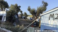 اردوگاه پناهجویان در جزیره لسبوس