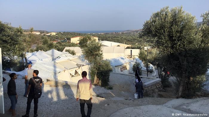 Moria Lesbos refugiati