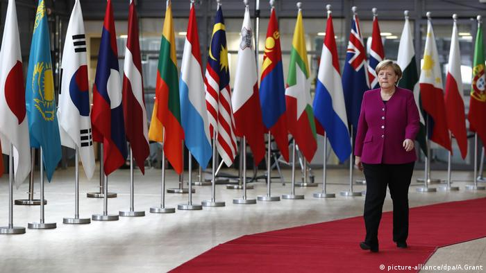 Angela Merkel in Brussels (picture-alliance/dpa/A.Grant)