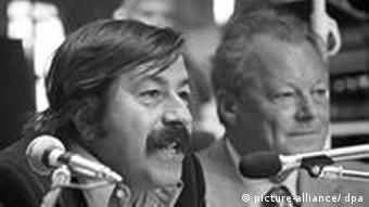 Günter Grass und Willy Brandt