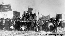 Wolgadeutsche Republik 10.Jahrestag Oktoberrevolution