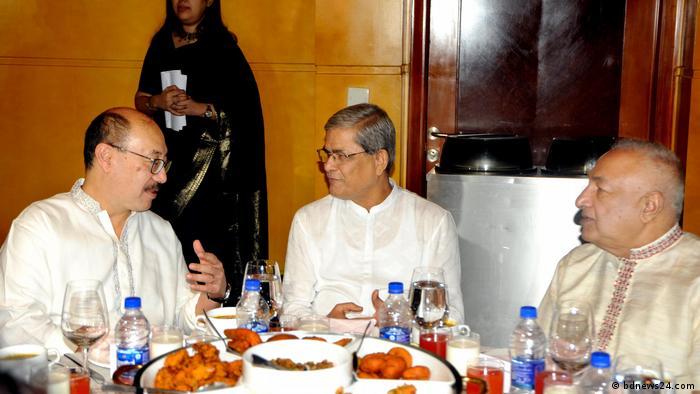 বিএনপি নেতা মির্জা ফখরুলের সঙ্গে ভারতের রাষ্ট্রদূত (ফাইল ছবি)