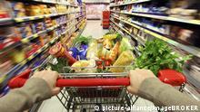 Supermärkte Supermarkt Einkaufswagen