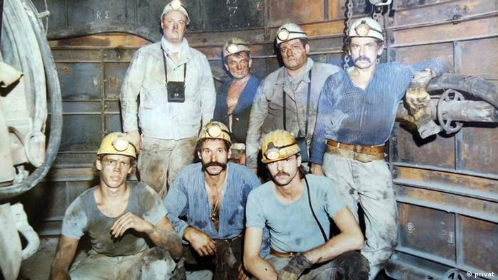 Guest workers in a coal mine (privat)