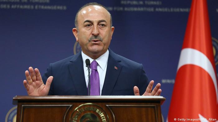 Türkei Mevlut Cavusoglu, Außenminister in Ankara