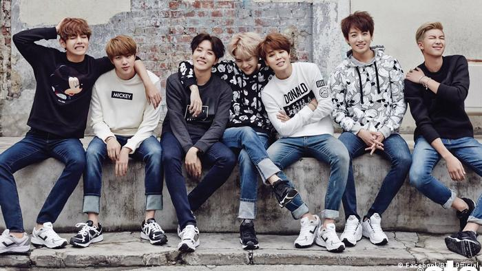 A picture of the K-Pop band BTS | Bangtan Boys (Facebook/BTS Official)