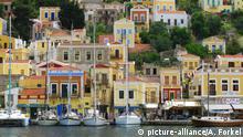 Rhodos, Simi, Stadt, Hafen   Verwendung weltweit