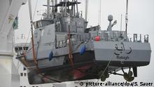 Deutschland Hafen von Mukran | Küstenschutzboot für Saudi-Arabien