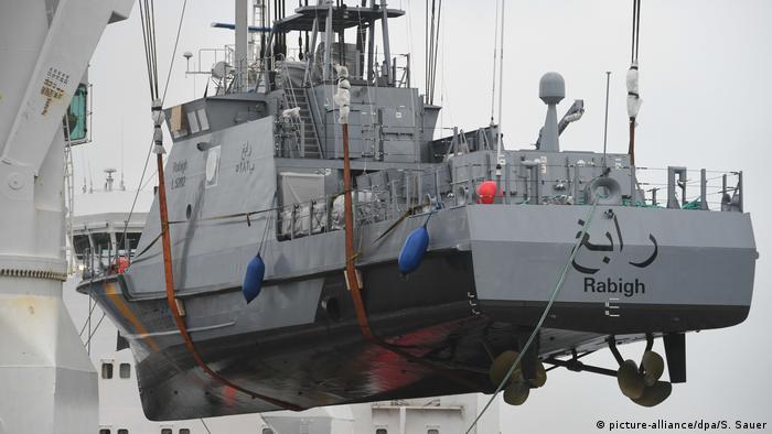 Построенный в ФРГ для Саудовской Аравии катер береговой охраны