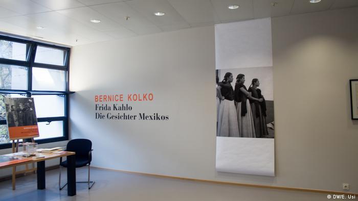 Entrada a la exposición en la Casa Willy Brandt, en Berlín.