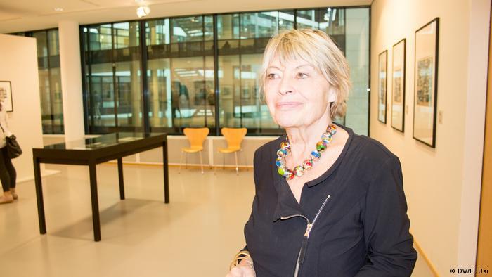 La directora artística de la Fundación Willy Brandt, Gisela Kayser.