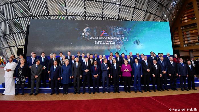 Belgien ASEM Treffen in Brüssel (Reuters/T. Melville)