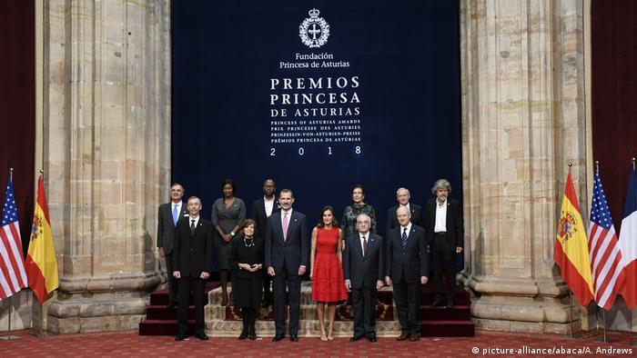 Preisverleihung Princesa de Asturias (picture-alliance/abaca/A. Andrews)