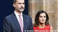 Preisverleihung Princesa de Asturias
