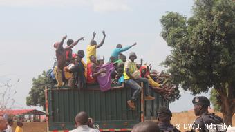 Angola Zwangsvertreibung von Kongolesen
