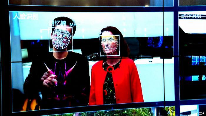 DW Sendung Shift Gesichtsanalyse-Tool