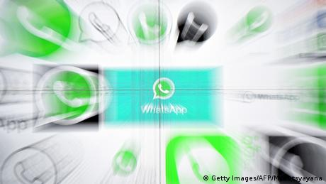 Symbolbild: Whatsapp (Getty Images/AFP/M. Vatsyayana)