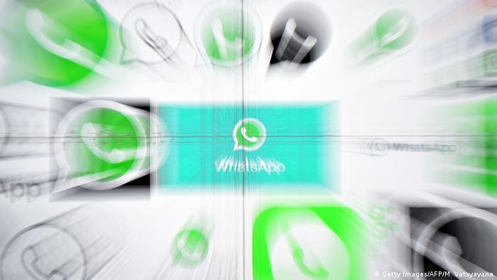 Symbolbild: Whatsapp (Getty Images/AFP/M. Vatsyayana)