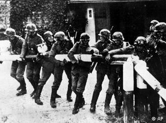Am 1. september 1939 - dem tag des deutschen überfalls auf polen